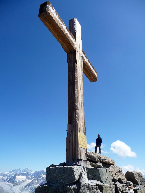 Summit of Mont Gelè