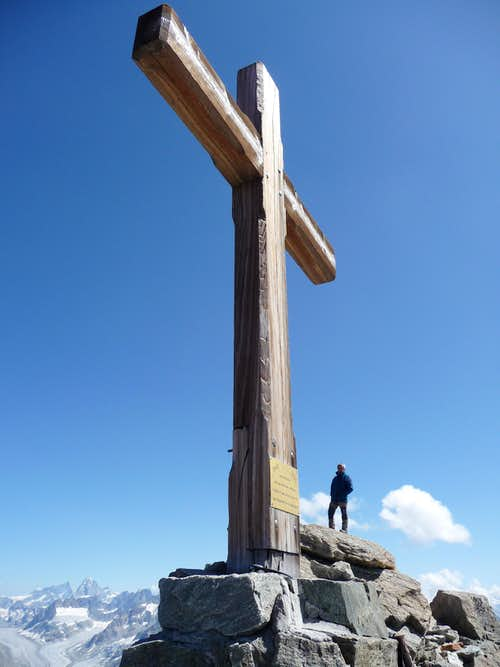 Summit of Mont Gelè