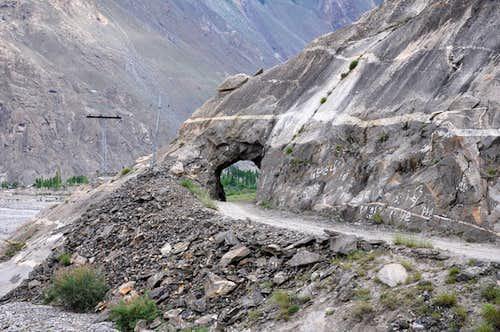 Road to Askole Baltistan