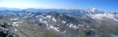 Panorama view from Stellihorn