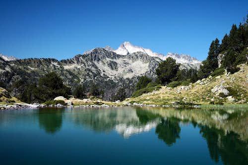 Lac Inférieur et Pic du Néouvielle