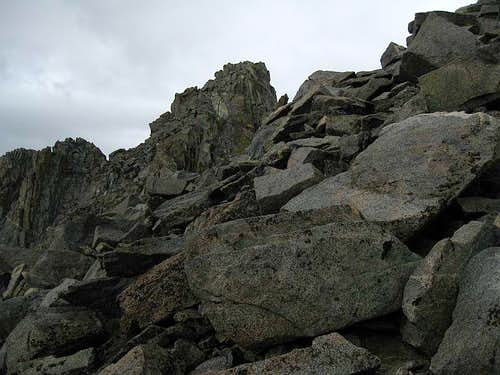 Summit of Temple Crag