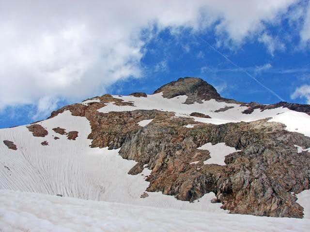 Refuge du Portillon-South face