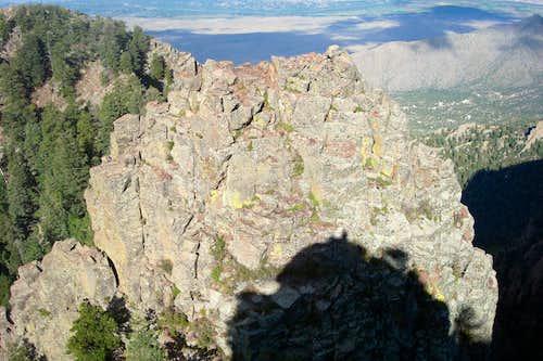 Sentinel, Sandias, New Mexico