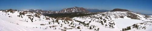 Pano from the north ridge of...