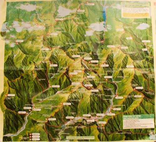 Japan Alps Map