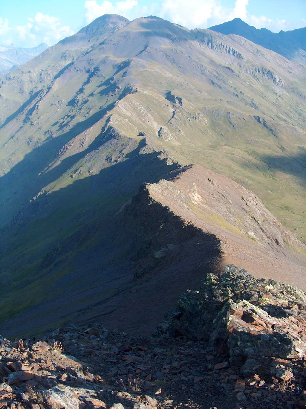From Pico d'Ordiceto, West ridge