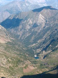 From Pico d Ordiceto, looking down into the Ordiceto valley