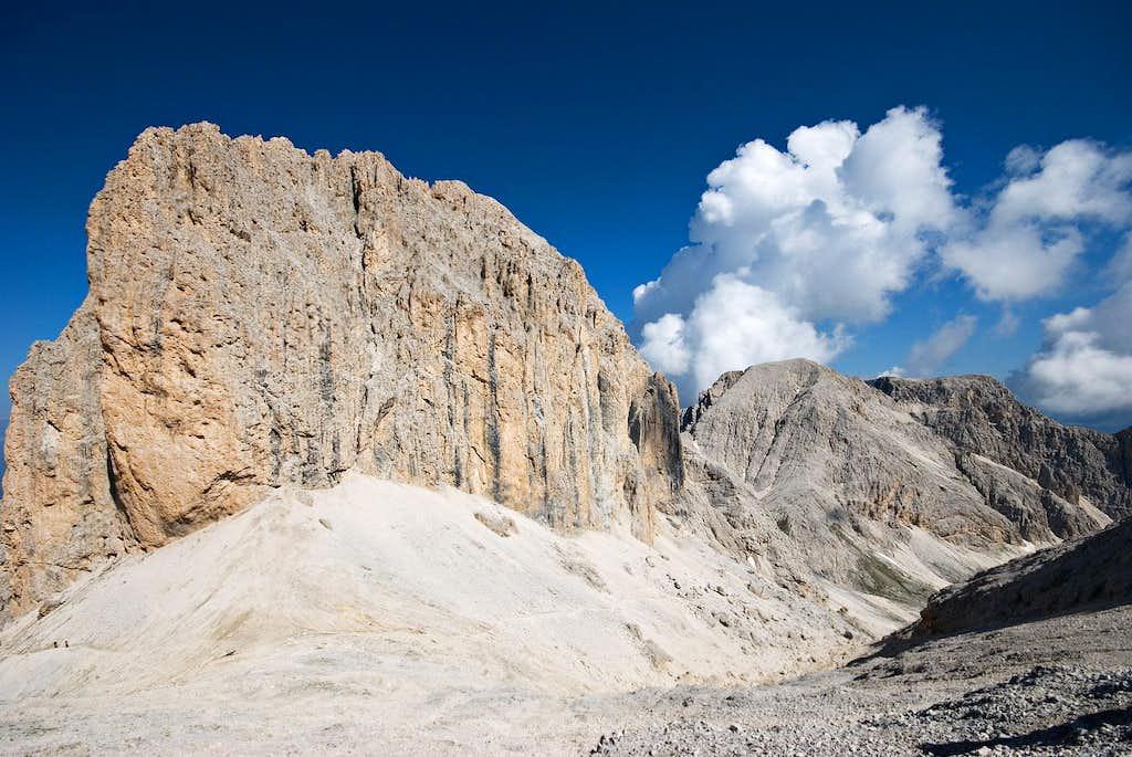 View from Cima del Larsec