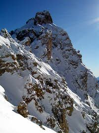 Cristallo seen from NW