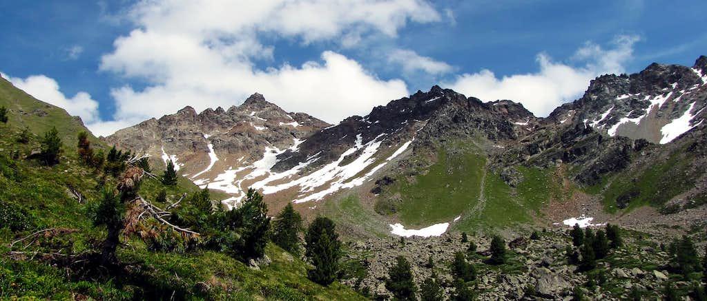 Mont Ross di Comboè