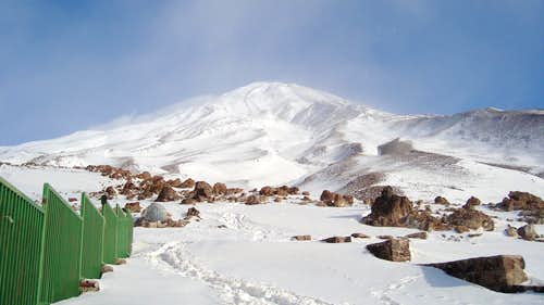 Winter Damavand - South View