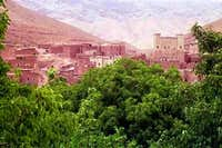 August, 2001. Berber village...