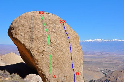 Routes of Flotilla Boulder
