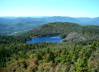 Crane Mtn Pond (view from Crane Mtn)