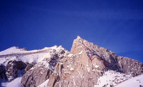 An overview of the North Face...