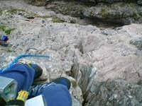 looking down the 3rd pitch