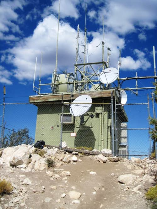 Bertha Peak - summit\'s repeater station