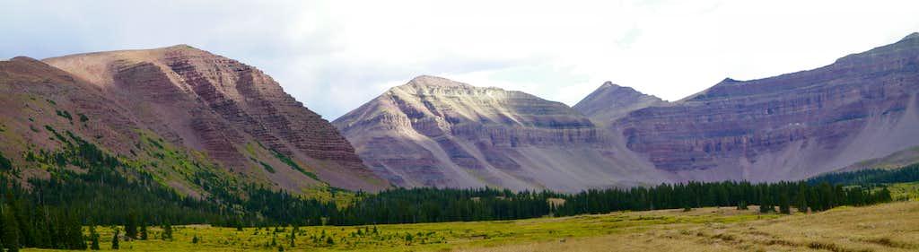 King's Peak from Henry's Fork Basin
