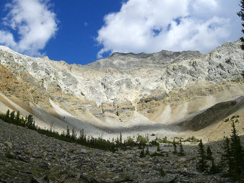 Mt. Idaho\'s SW Face
