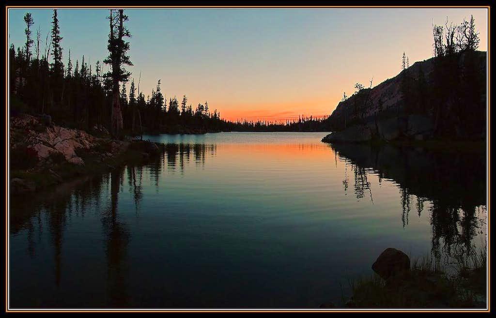 Imogene Lake Sunrise