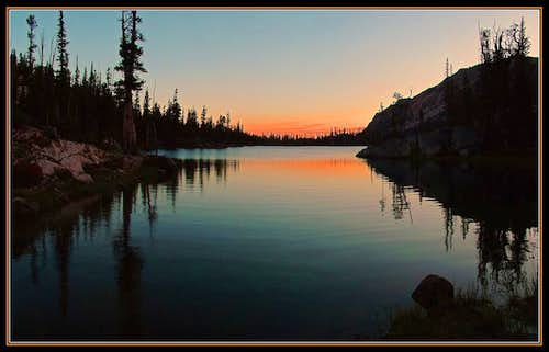 Imogene Lake Sunrise