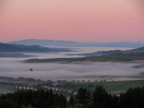 View toward Kralova Hola