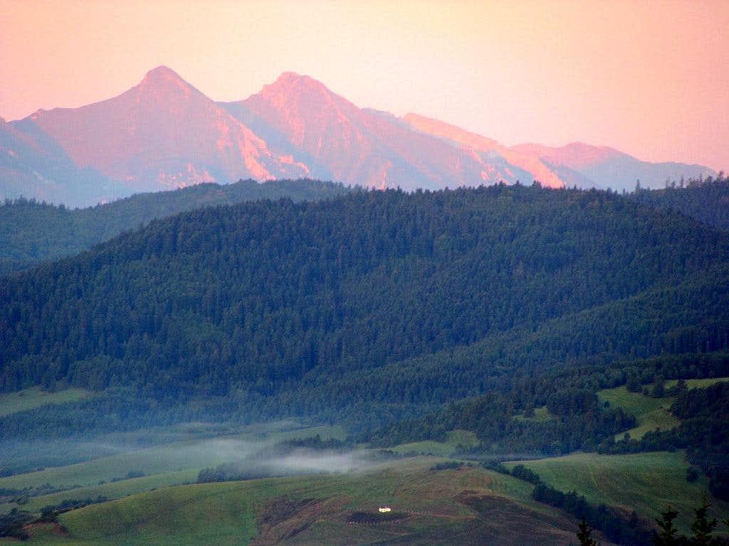 Havran and Zdziarska Vidla in Belianske Tatras