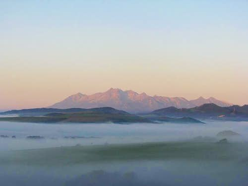 Just foggy Tatras