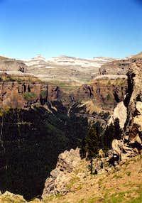View of Ordesa Canyon