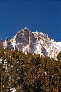 University Peak seen from the...