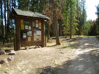 East Fork Blacks Fork Trailhead