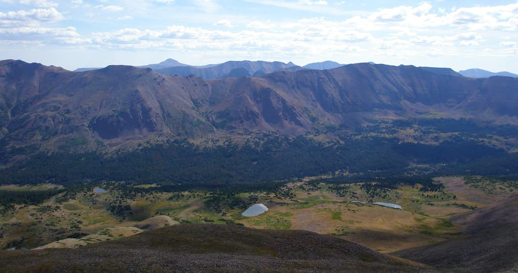 Squaw Benchmark Ridge