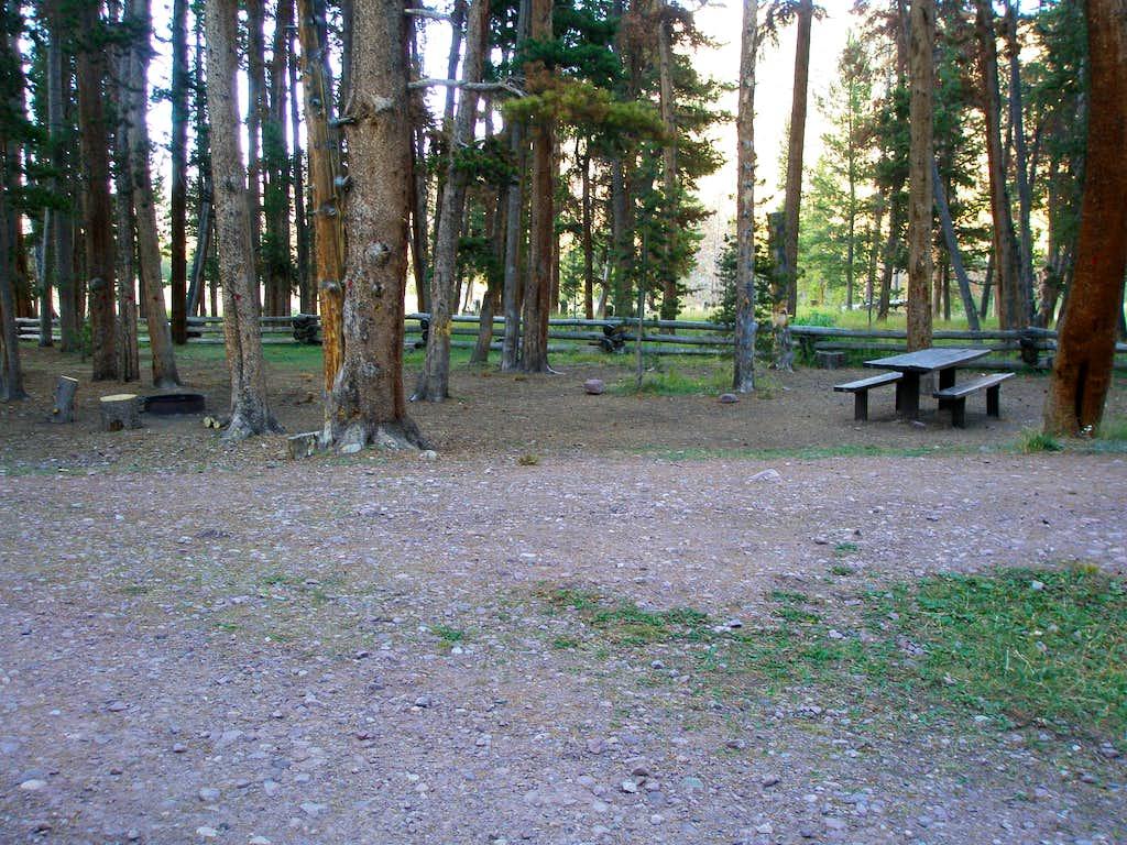 East Fork Blacks Fork Campground