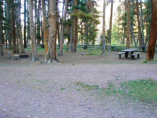 East Fork Blacks Fork Campground
