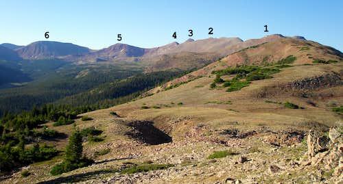 East Fork Blacks Fork Ridge