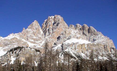 The Monte Cristallo