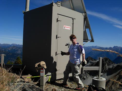 At Ruby Mountain Summit