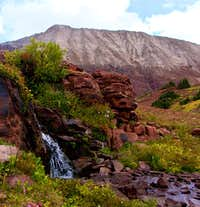 Willow Peak with Waterfall