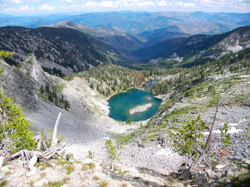 Source of Three Lakes Basin