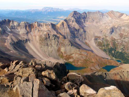 Sneffels Summit View