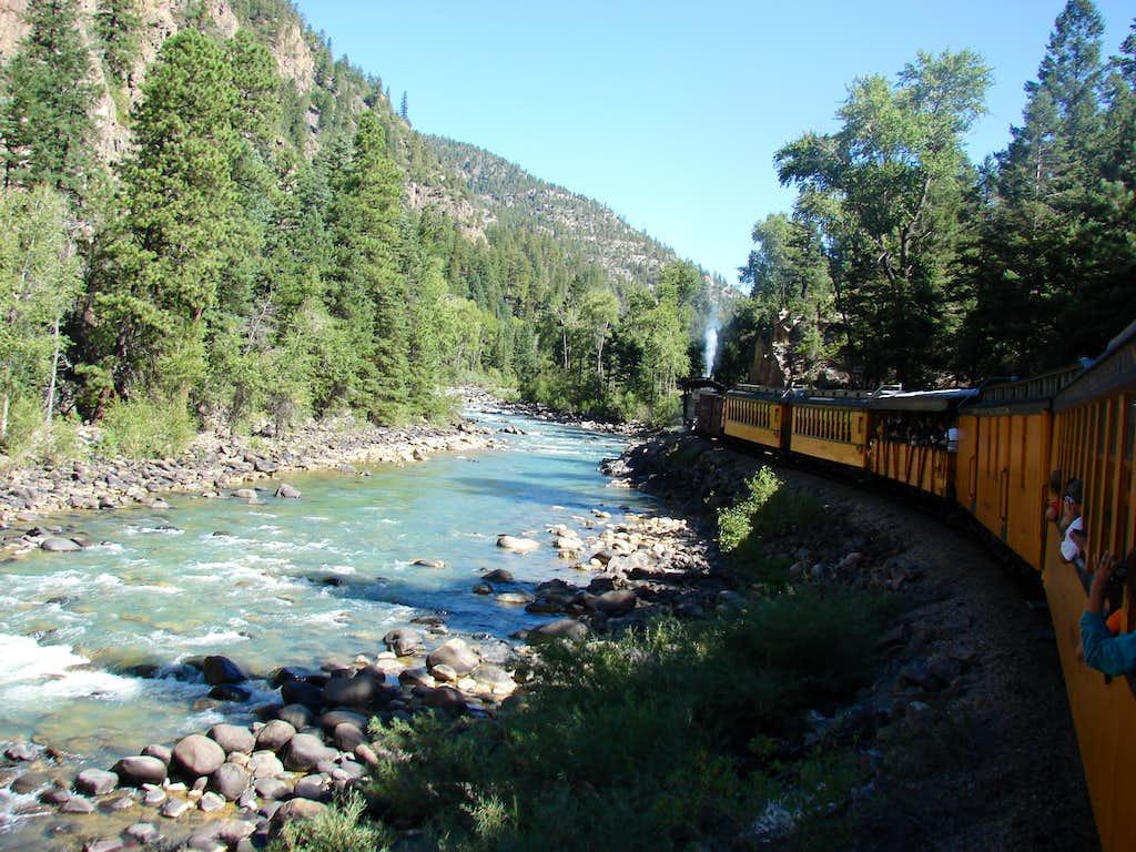 Train and the Animas