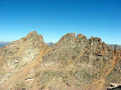 Sunlight Peak and Spire