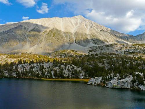 Mt. Morgan, 13,748',  from Box Lake