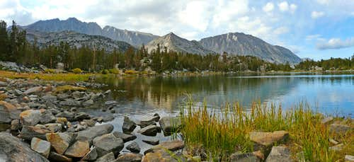 Chickenfoot Lake north panorama