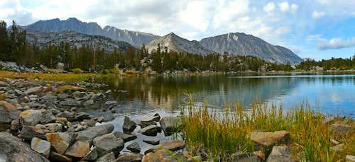 Chickenfoot Lake north panorama