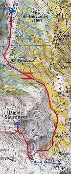 Sarrouyès route