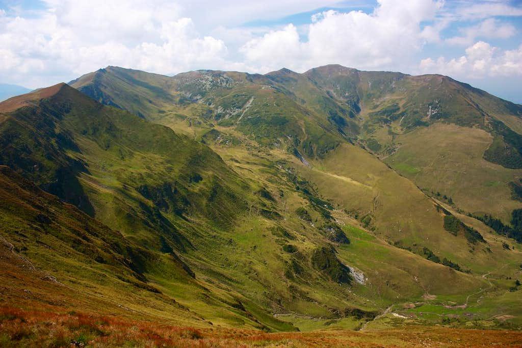 Towards Gargalau - Rodnei mountains