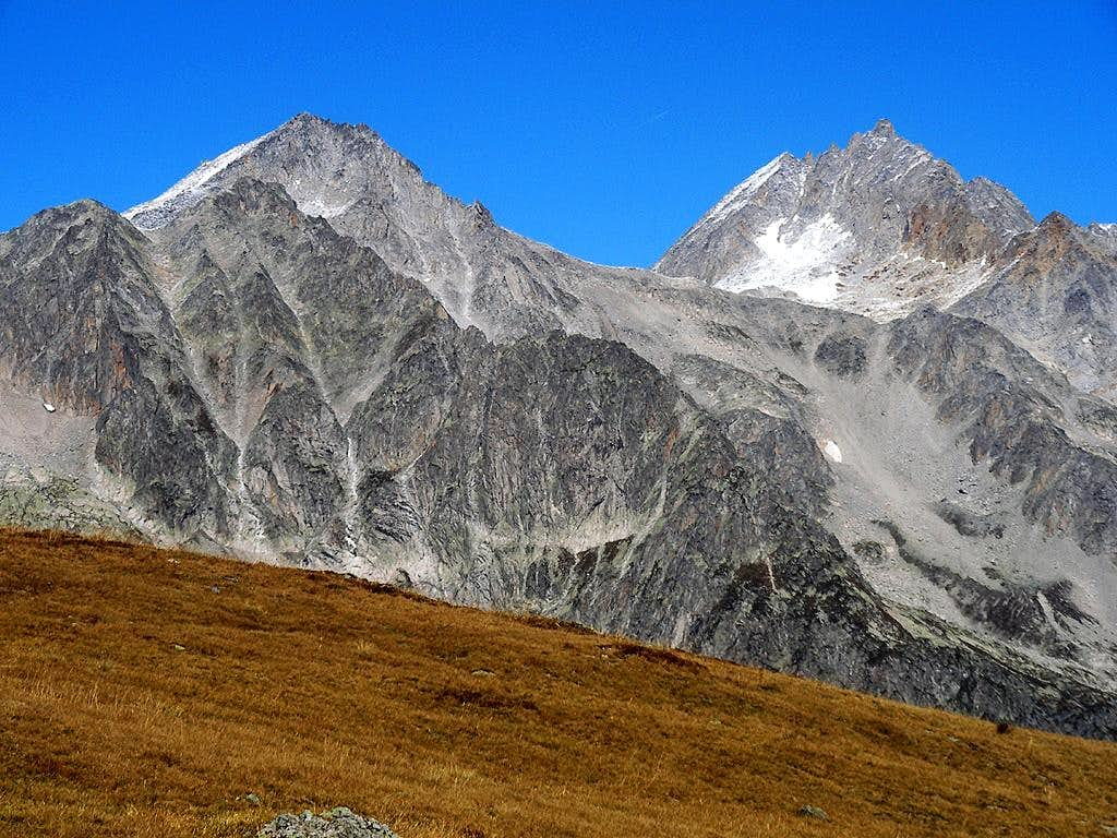the N ridge of Val Bedretto
