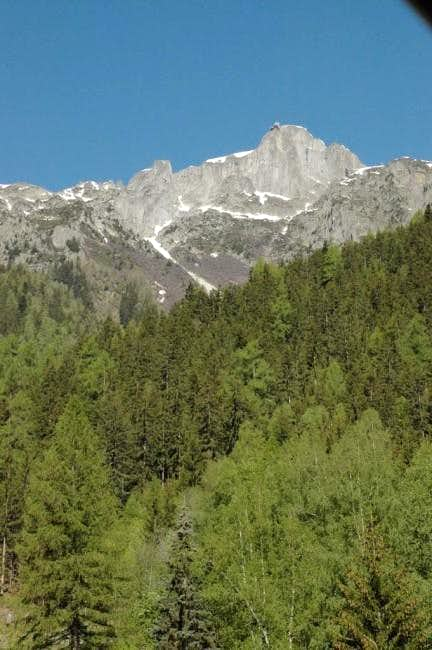 Le Brevent From Chamonix